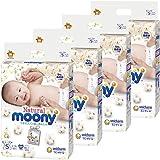 【整箱贩卖】natural moony S码 240片(60片×4个)纸尿裤型