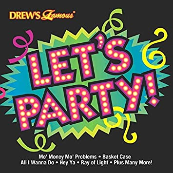 Amazoncom Lets Party Music Cd Adult Drews Famous Collection