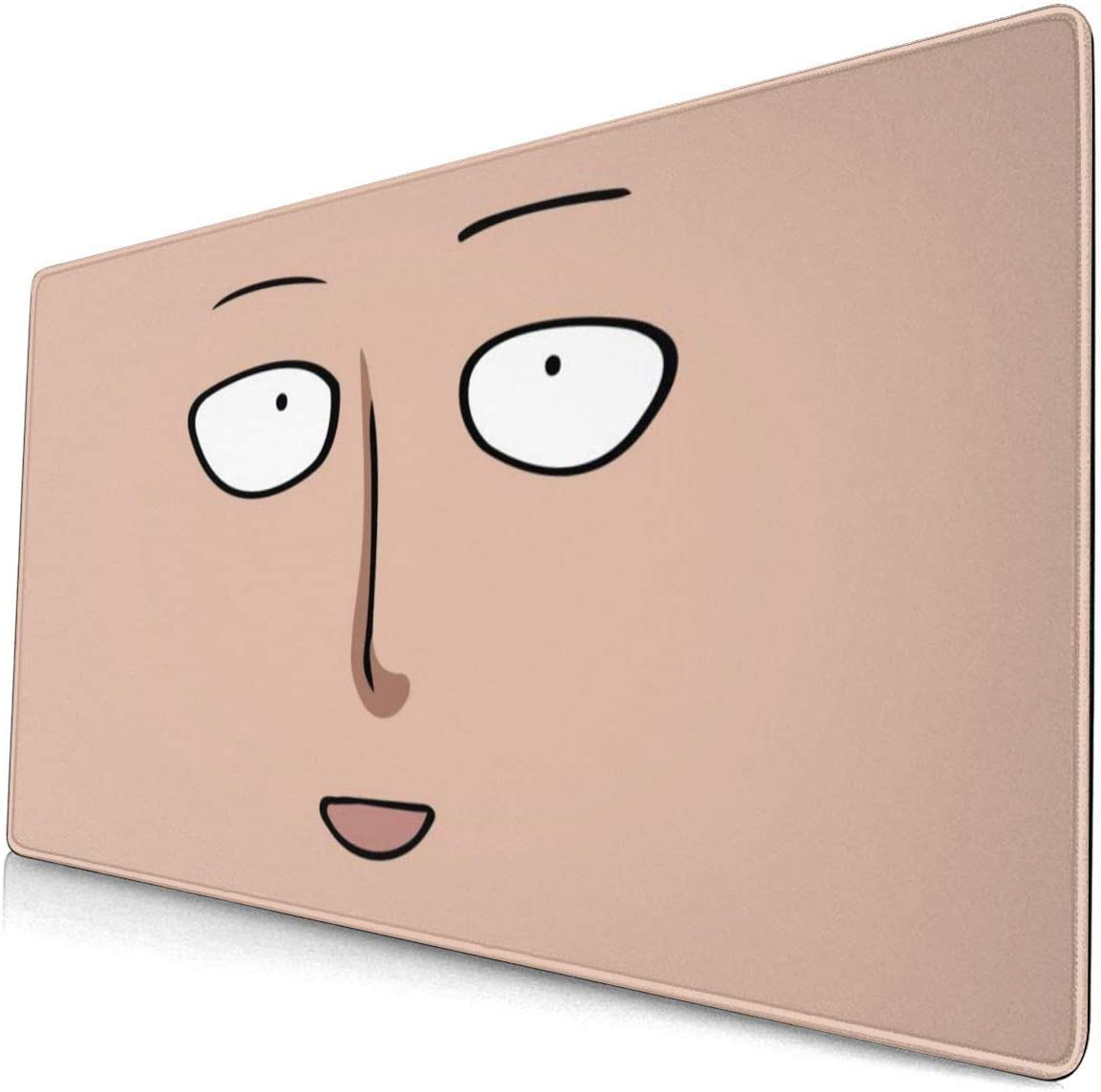 Amazon Com Anime One Punch Man Saitama Ok Face 15 8x29 5 In Large Gaming Mouse Pad Desk Mat Long Non Slip Rubber Stitched Edges Office Products I do not own one punch man, copyright goes to mad house and the original creators. large gaming mouse pad desk mat