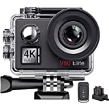 AKASO V50 Elite 4K/60fps 20MP WiFi Action Camera Voice Control Electronic Image Stabilization 40m Waterproof Camera…