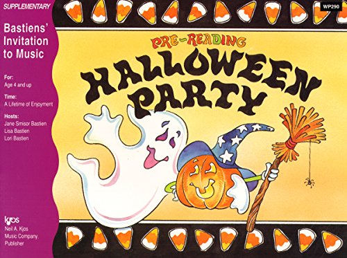 WP290 - Invitation to Music - Pre - Reading Halloween Party