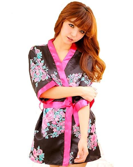 Amazon.com: mismxc Sexy Retro Kimono Japonés Yukata Kimono ...