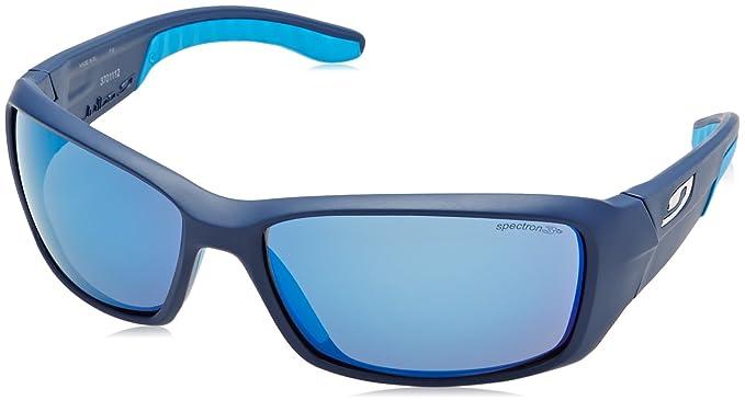 7ebffd4fc2 Julbo Run Sp3Cf Lunettes de Soleil Homme, Bleu, Taille L: Amazon.fr ...