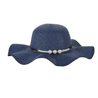 94552689dad40 Vectry Sombreros Paja Sombrero Sombrero Mexicano Sombreros Mujer Playa  Sombrero Disfraz Sombrero De Copa Disfraz Sombrero De Copa Sombrero Azul   Amazon.es  ...