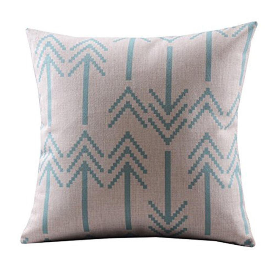 Retro Arrow Throw Pillow Cover...