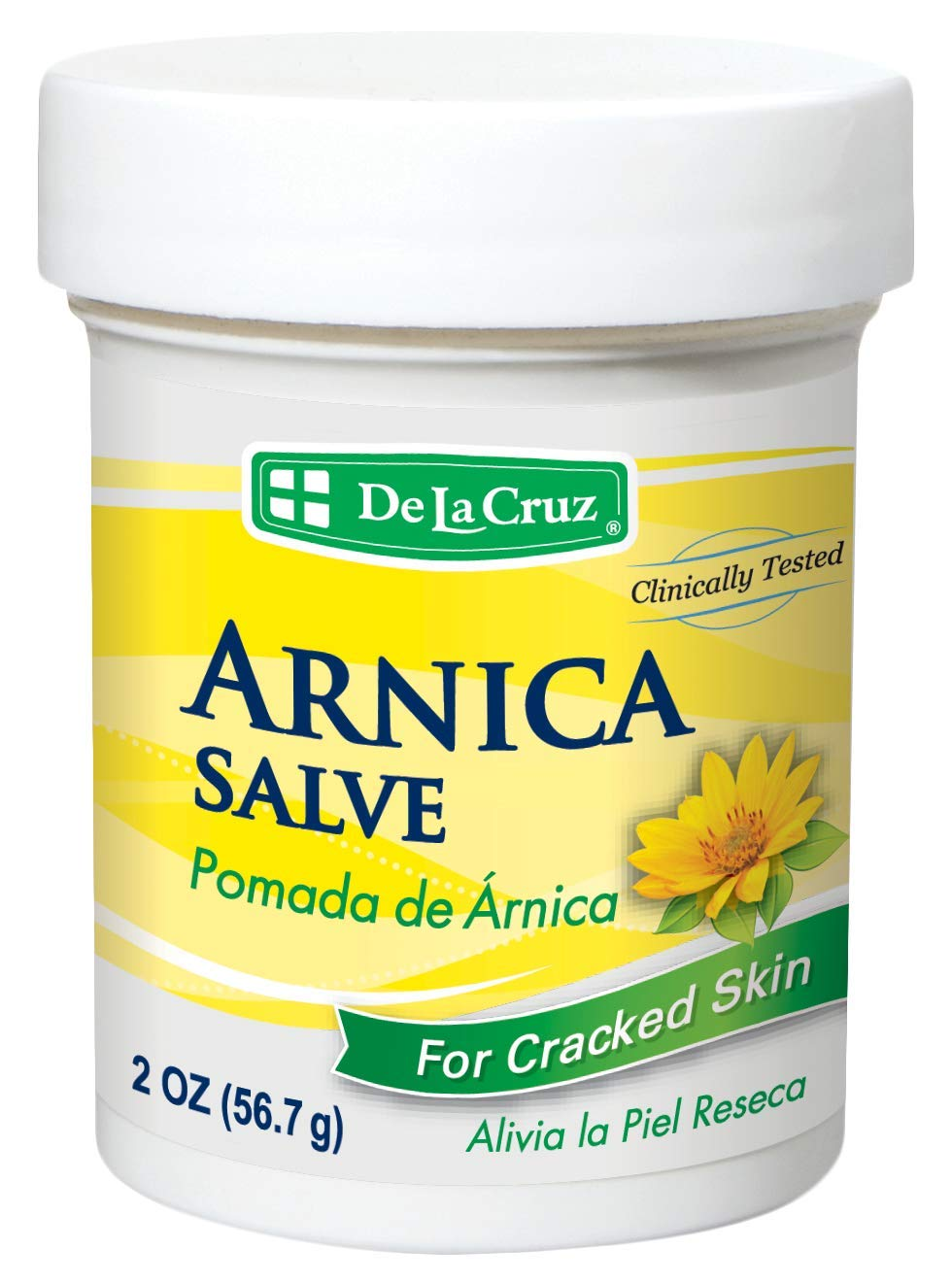 De La Cruz Arnica Salve for Cracked Skin/No Preservatives, Colors or Fragrances/Allergy Tested/Made in USA 2 OZ. Everready First Aid B004DFOY46