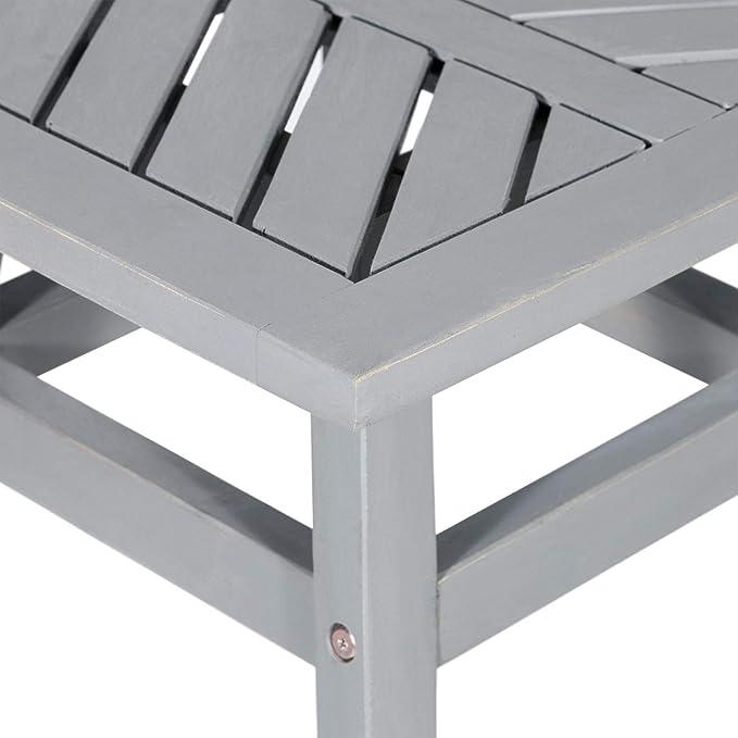 Amazon.com: Walker Edison Furniture Company - Chevron para ...