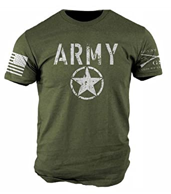 Amazon.com: Grunt Style Army Men's T-Shirt: Clothing