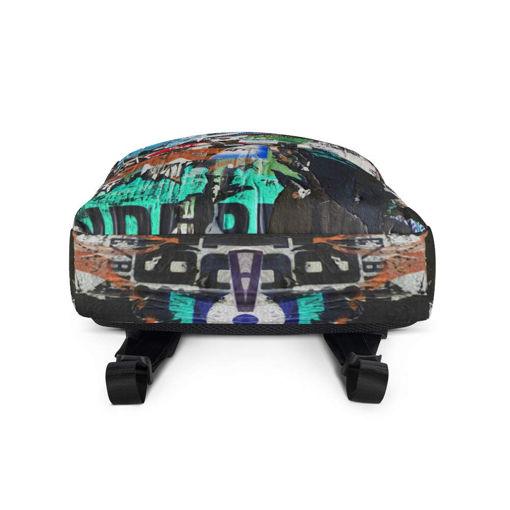 Abstract Design All-Over Print Backpack