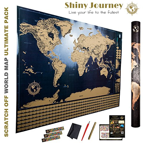 Amazing scratch off world map ultimate pack 4 xtra tools 3 e amazing scratch off world map ultimate pack 4 xtra tools 3 e books top quality deluxe large 3224 international atlas wall poster to depict places you gumiabroncs Choice Image
