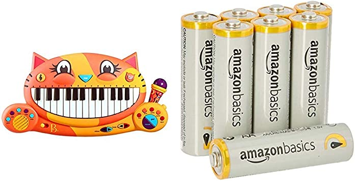 Toys Meowsic Musical Keyboard Microphone Piano Playing Toy Brand New B