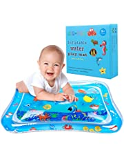 Tummy time Water Play mat Baby & Toddlers is The Perfect Fun time Play Inflatable Water matActivity Center Your Baby's  Stimulation Growth