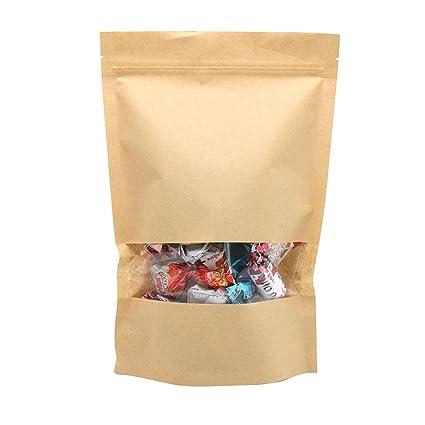 10 Pcs x CAOLATOR Bolsas de Almacenamiento de Frutas Secas ...