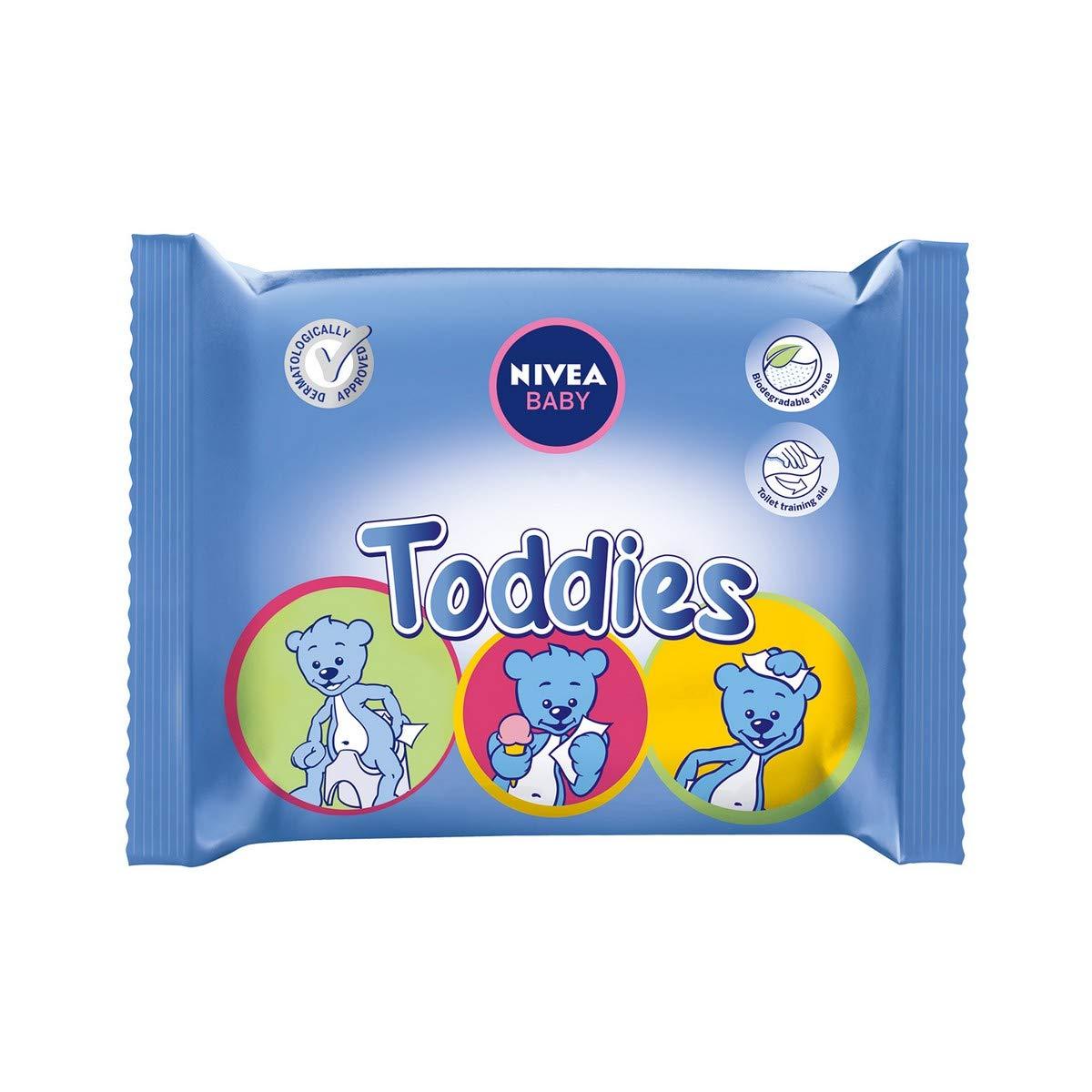 Nivea Baby Lingettes Multi-Usages Toddies x 60