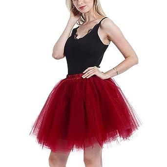 37a226132 FEOYA - Traje de Tul Faldas Media Tulle Mujer para Danza de Ballet ...