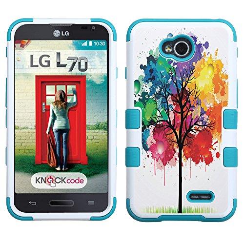 UNIQUITI LG Ultimate 2 Case - TuMax Hybrid Cover(WHTL) - DESIGN (Watercolor Tree)
