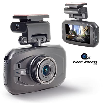 WheelWitness HD PRO Dash Cam with GPS - 2K Super HD