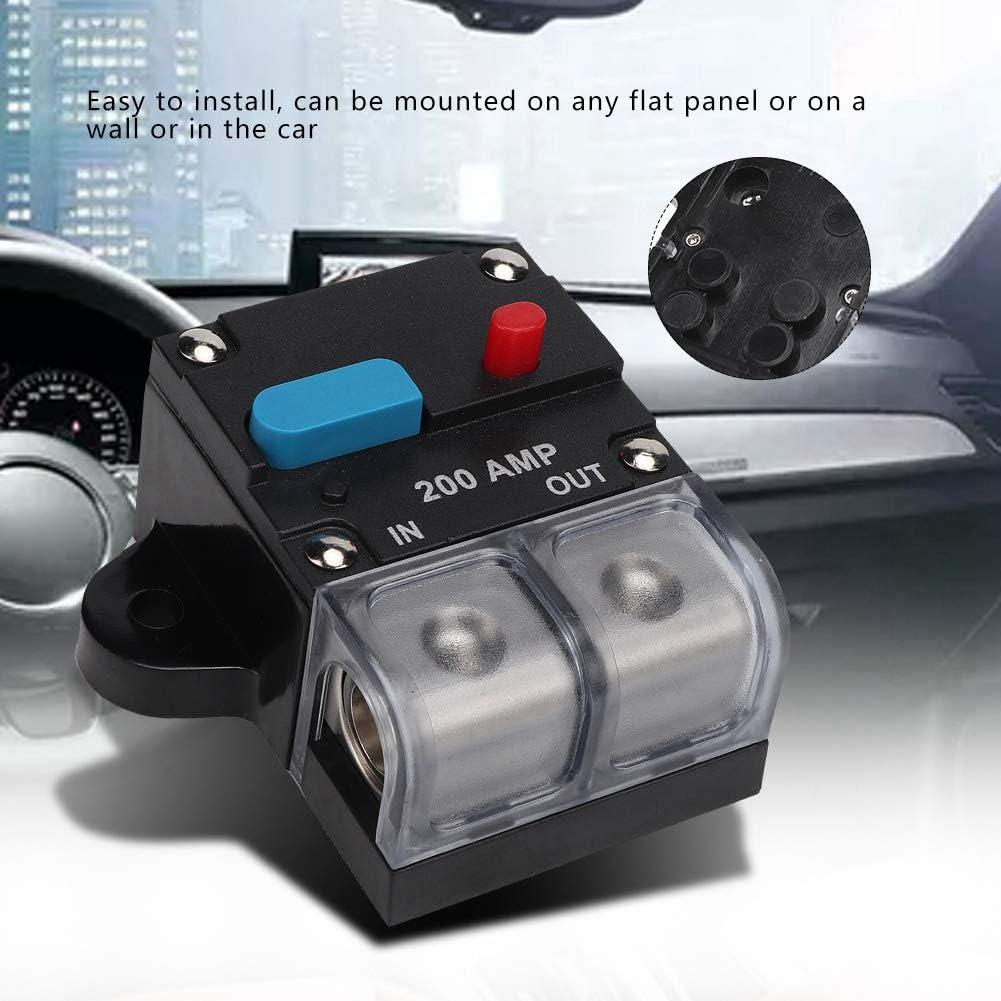 80A-300A Interruttore automatico ripristinabile Fusibile auto-ripristinato Pulsante di reset manuale Suuonee Interruttore automatico 300A