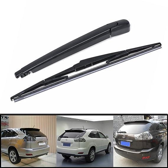 Ventana de coche parabrisas trasero brazo limpiaparabrisas + hoja Kit para Lexus RX300 RX330 RX350 RX400h: Amazon.es: Coche y moto