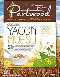 Pertwood Farm Organic Yacon Muesli 500g (Pack of 2)