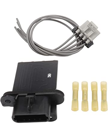 hvac fan blower motor resistor kit with wire harness replaces 973-582,  87138-