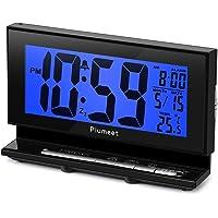 Plumeet Despertador Electrónico con Luz de Sensor, Reloj