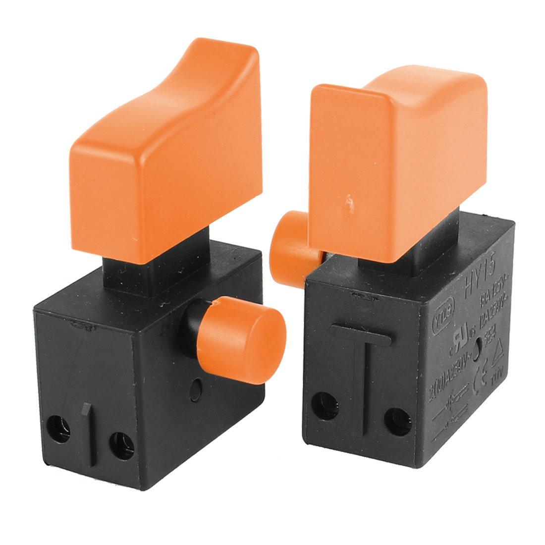 2 Pcs HY15 Latching NO+NO DPST Switch 18A 125V 12A/2A/10A 250V AC
