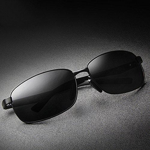 Hommes 100 De UV Lunettes De Protection Soleil PolariséEs TESITE Lunettes Noir pour AXpw0qv