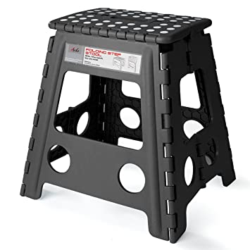 Acko 16 Inches Super Strong Folding Step Stool for Adults and Kids Kitchen Stepping Stools  sc 1 st  Amazon.com & Amazon.com : Acko 16 Inches Super Strong Folding Step Stool for ... islam-shia.org
