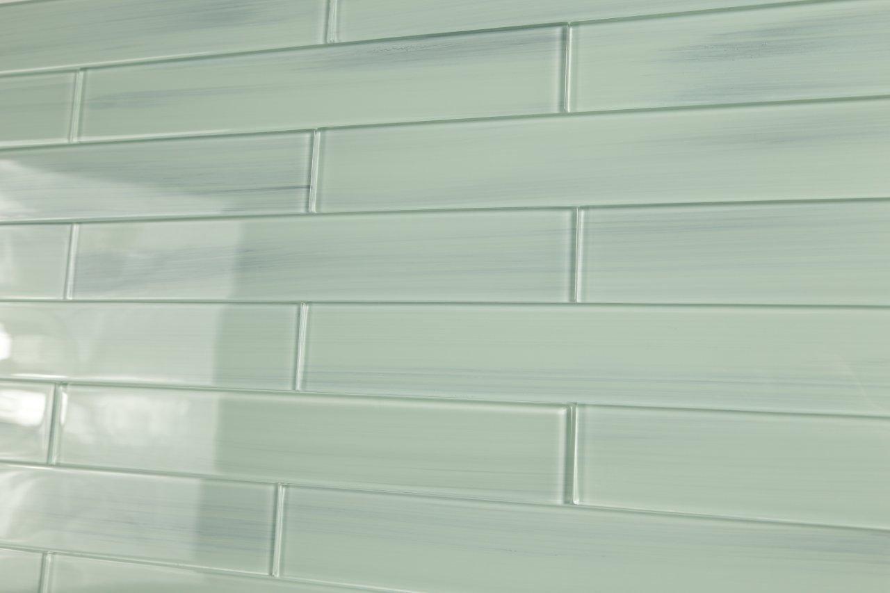 Light blue off white vesper glass subway tile for kitchen light blue off white vesper glass subway tile for kitchen backsplash or bathroom from bodesi color sample amazon doublecrazyfo Gallery