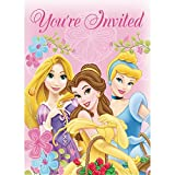 Disney Princess Party Invitations 16 Count Cards and Envelopes