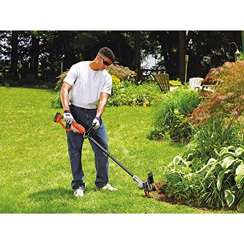 BLACK+DECKER LST420 20V MAX Lithium High Performance Trimmer and Edger, 12""