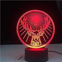 3D Visuele lamp Nachtlampje Jagermeister Geschikt voor kinderen familie en vrienden verjaardag Valentijnsdag cadeaus…