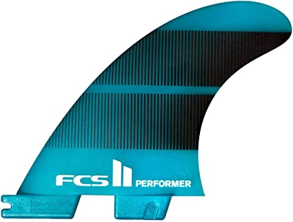 FCS II Performer Performance Core Tri Fin Set Blue
