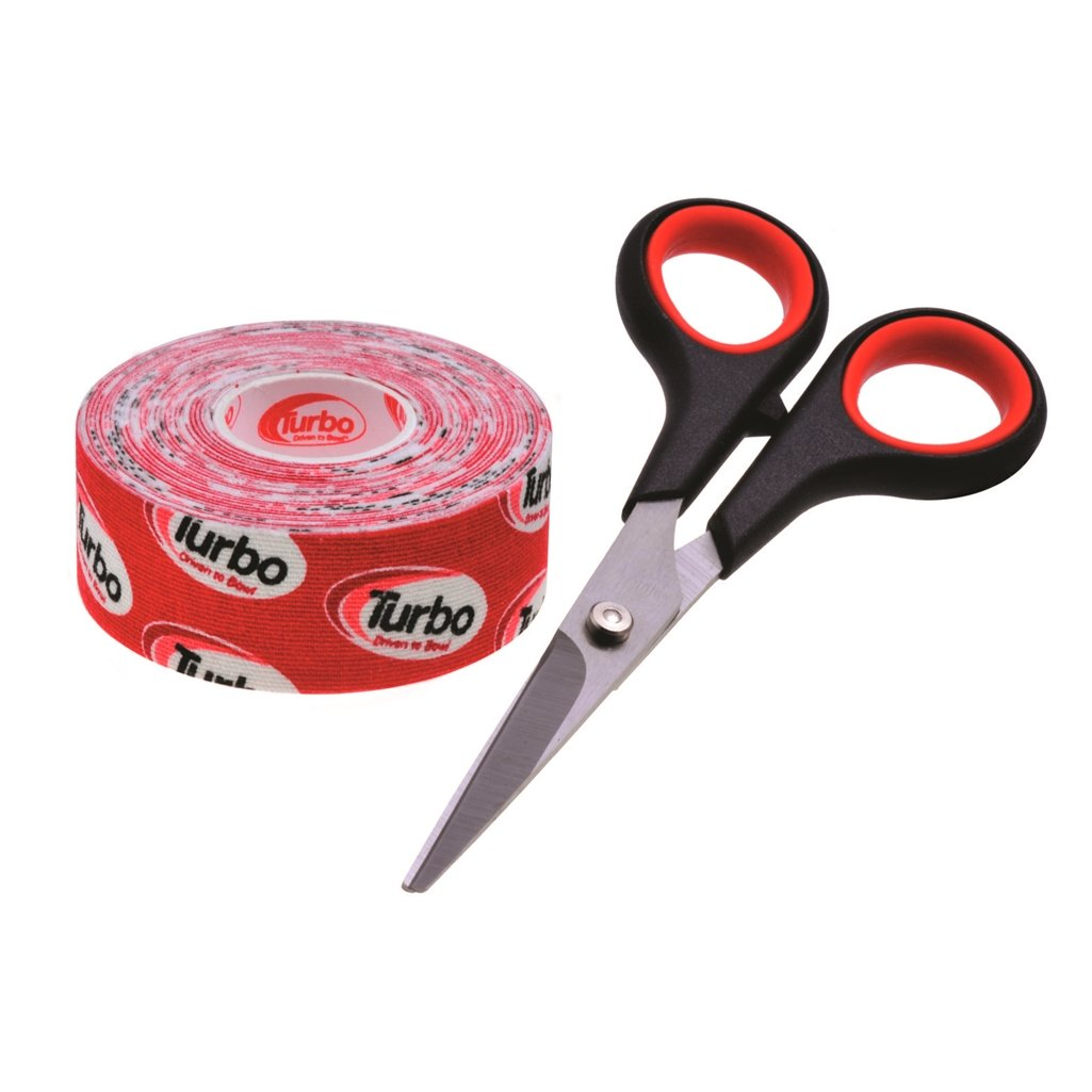 Turbo Driven to Bowl 1 Inch Roll Fitting Tape- Red by Turbo Bowling Grips