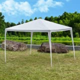 Sundale Outdoor 10'x10' Canopy Gazebo Party Wedding Tent (White)