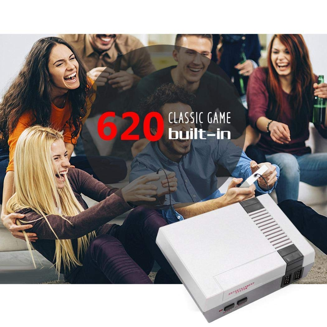 Rtiopo Recreation Retro Built-in 620 Classic Games Dual Gamepad Gaming Player Handheld Games by Rtiopo (Image #4)
