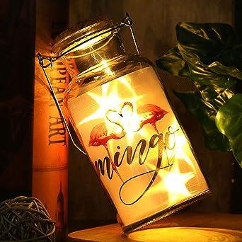 Mobestech luces de botella de corcho luz de hadas vidrio ...