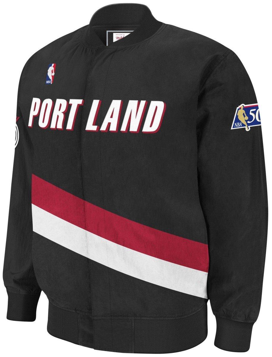 Portland Trail Blazers Mitchell & Ness NBA Authentic 96 – 97ウォームアッププレミアムジャケット 4L  B077DJ4M9M