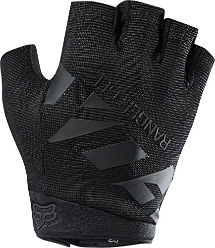 Fox Racing Ranger Gel Short Glove - Men's Black/Black, L