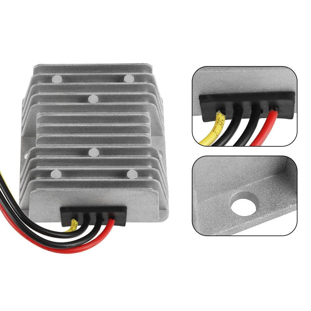 152W 8A Voltage Step Up Converter Boost Power Module Car LED Displays Acogedor DC-DC Step Up Converter Regulator,12V to 19V Boost Converter for Electric Motors Fans. Speakers