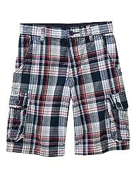 Faded Glory Boy's Adjustable Waist Cargo Shorts