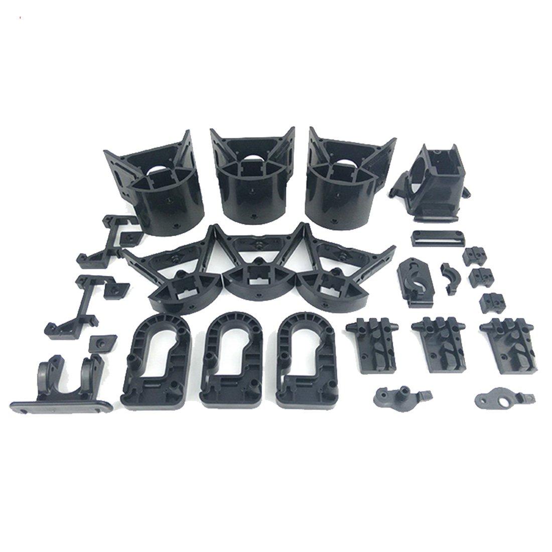 micromake Inyección de plástico DIY partes no estándar Set Kossel ...