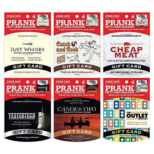 Amazon.com: Prank Pack Gift Card Holders: 6 Pack: Health ...