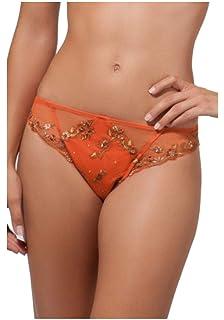 Lise Charmel Tanga modèle Vibration Sutra Coloris Orange référence ACC0060 41736a48307