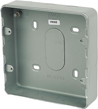MK 6 y 8-interruptor-con revestimiento de caja: Amazon.es: Bricolaje y herramientas