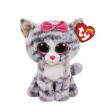 ff68cccf992 Amazon.com  Ty Beanies Claire s Girl s Boo Small Kiki The Kitten Plush Toy  Ty  Beanies  Toys   Games