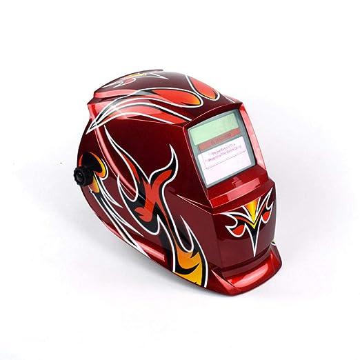 Soldadura eléctrica Máscara protectora Soldadura automática ...
