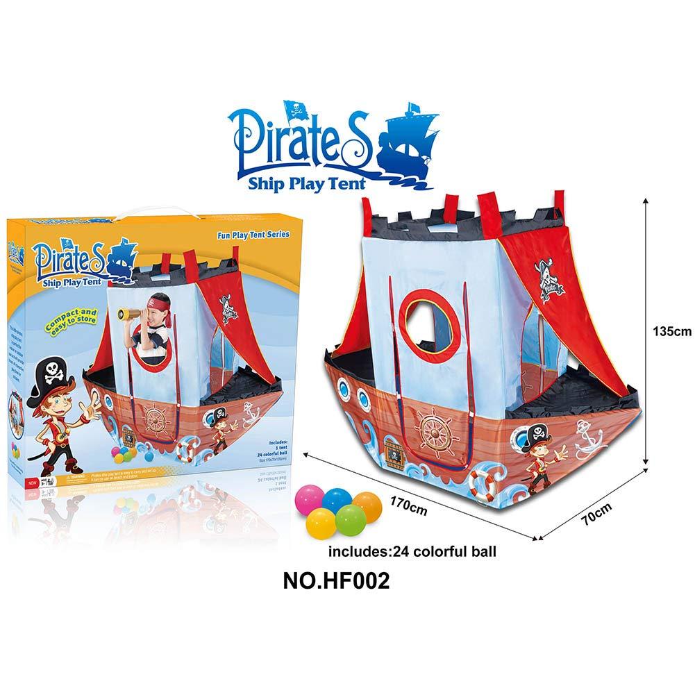 AROYEL 海賊船プレイテント 子供用 屋内または屋外で遊べる 子供用 プレイテント 子供用 (洗濯可能 折りたたみ可) ギフトに最適 AR-11 B07PNH7H57 B