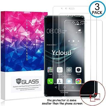 Ycloud [3 Pack] Protector de Pantalla para Huawei P9 Plus (5.5 ...